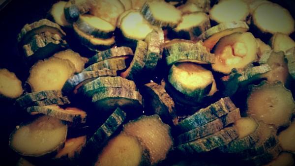 zucchine curcuma
