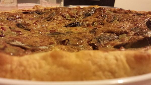 torta carciofi